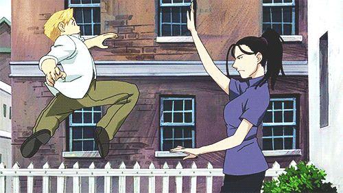 Awesome Izumi Wrist-Flip of Awesomeness! Attack go!