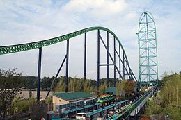 Go on the tallest, longest and (2nd fastest) roller coaster in the world