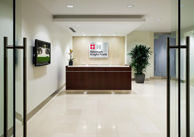 Foyer Office Quote : Interior reception areas commercial architecture and