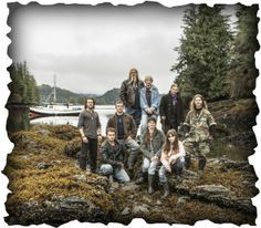 Picture, The Brown Family in Alaska. They do things different and the persevere. My kind of family.