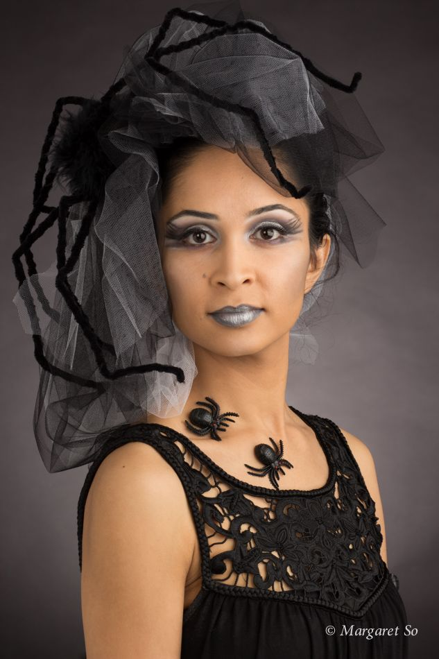Overcome your fears!  Model: Anu Raut, Hair, makeup artist and stylist: Nicole Ambrosino, Photographer and stylist: Margaret So