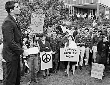 Image result for vietnam protest 1968