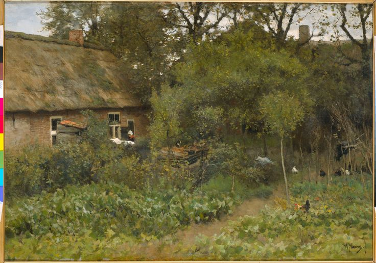 Anton Mauve, The Vegetable Garden. 1888