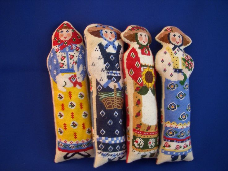 Needlepoint Dolls