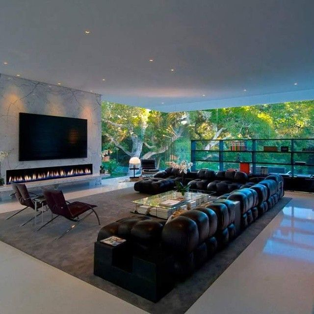 Tap Into Wide Angle Of Spacious Living Room In The Peaceful Jungle New Design My Living Room Decorating Design