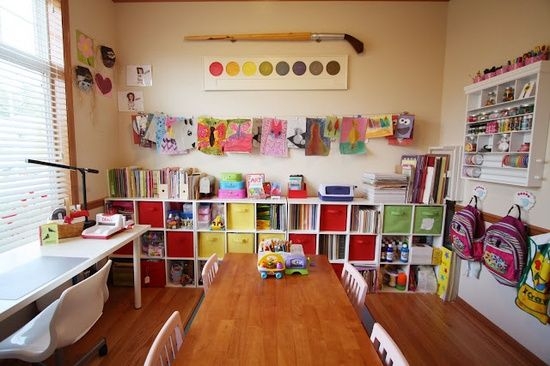 In home daycare designs pictures in home daycare ideas for Kids craft room