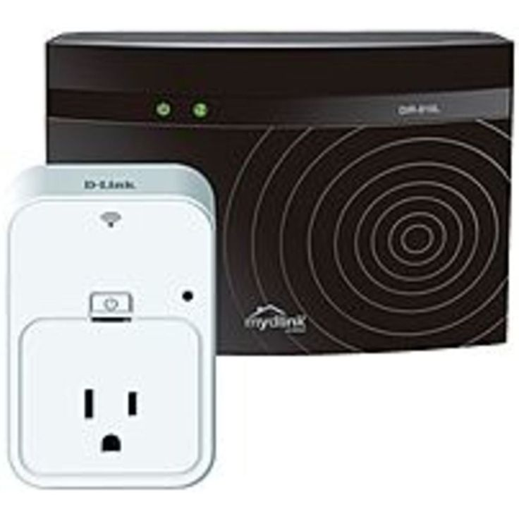 D-Link DKT-201L AC750 Wi-Fi Dual Band Router - 300 MBps + 433 MBps - Home Smart Plug Included