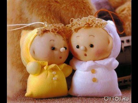 Сделайте вместе с детьми: Куколки из капроновых чулков — Рукоделие