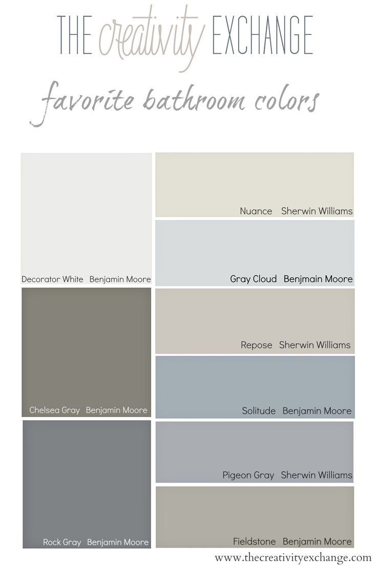 Gray colors for bathroom walls - Choosing Bathroom Paint Colors For Walls And Cabinets