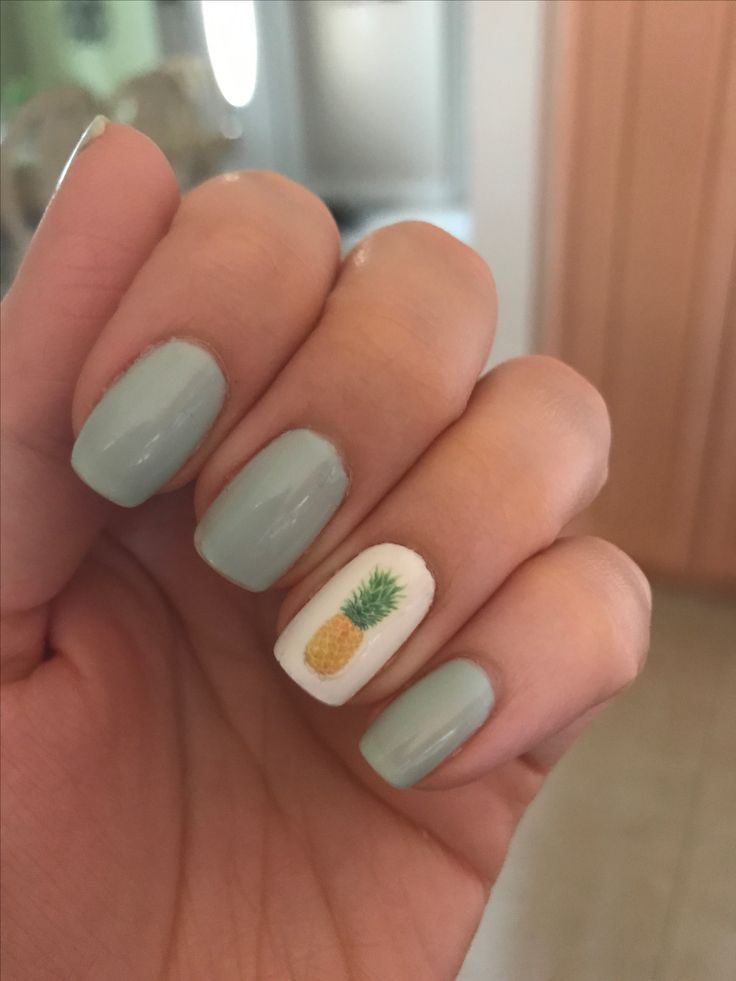 Nail Art - Pineapples rock!