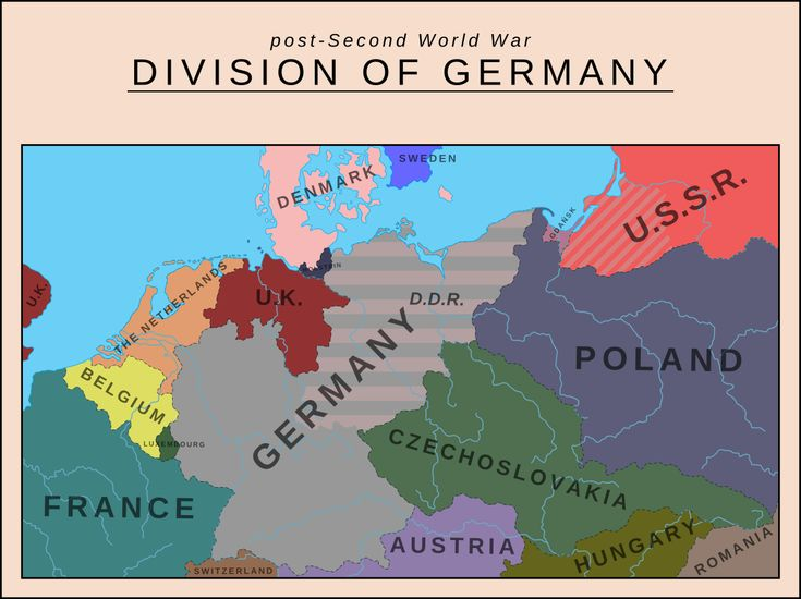 Division of Germany by SoaringAven.deviantart.com on @deviantART