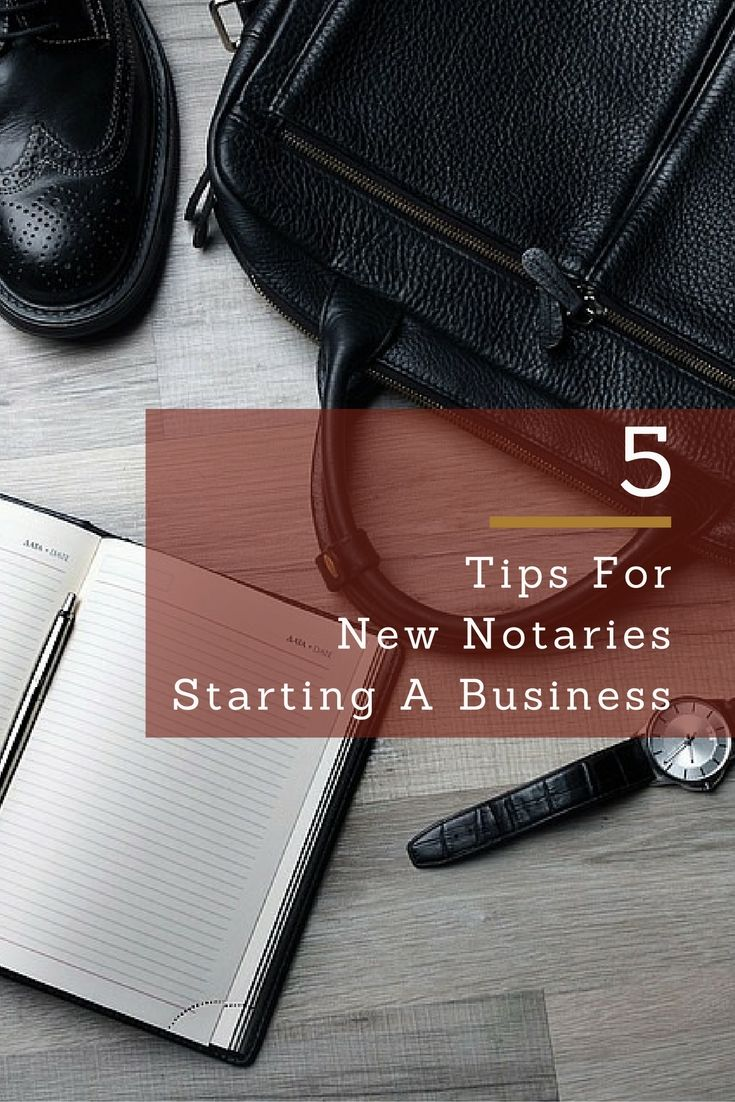 Two successful, self-employed Notaries have valuable suggestions to help you get started.