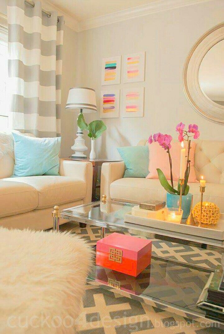 color palette with brighter rug and white walls - tropical ...