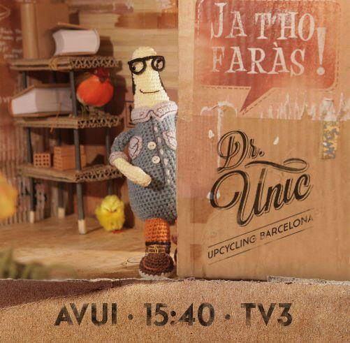 Recorda!! Avui sortim al @jathofaras de tv3 a les 15:40h. No t'ho perdis! #jathofaràstv3 #upcycling #handmade