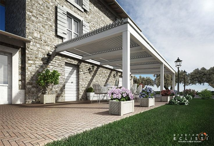 Oltre 25 fantastiche idee su tettoia su pinterest - Tettoia giardino ...