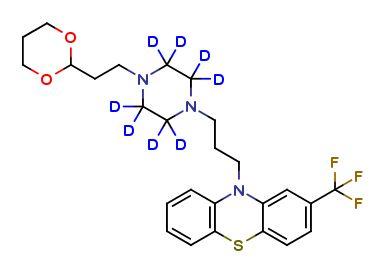 Oxaflumazine D8 Clearsynth introduces an antipsychotic drug Oxaflumazine D8.