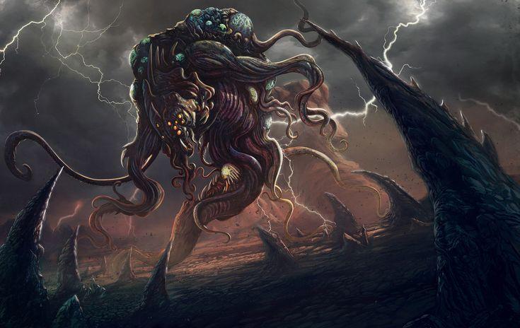 Hp Lovecraft Art Wallpapers: Yog-Sothoth, Walter Brocca On ArtStation At Https://www