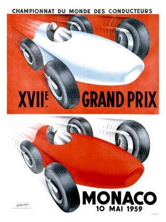 1959 XVII° GP F1 Monaco - 10 May 1960 - Winner  Jack Brabham#Cooper-Climax - La corsa vide la prima vittoria in carriera di Jack Brabham su una Cooper-Climax. Secondo classificato il debuttante in Ferrari Tony Brooks e terzo il francese Maurice Trintignant su Cooper-Climax.