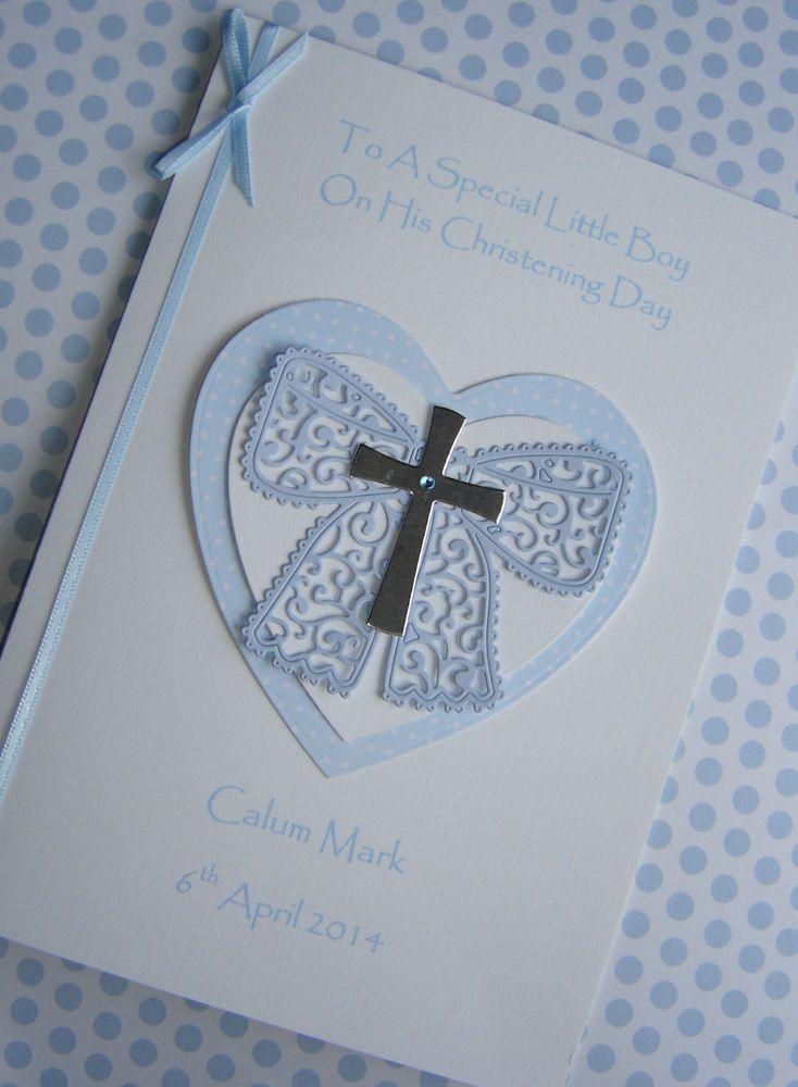 Красивые открытки с крестинами для мальчика