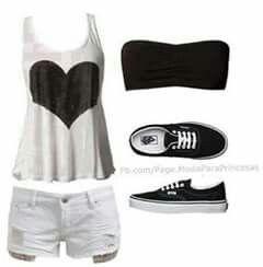 ropa casual para salir de compras o con amigos