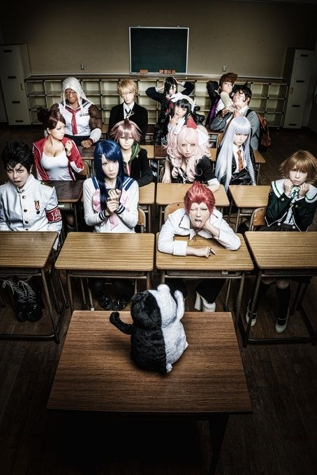 Danganronpa | Tokyo Otaku Mode β Everyone get your books out ad take notes on how to kill each other!