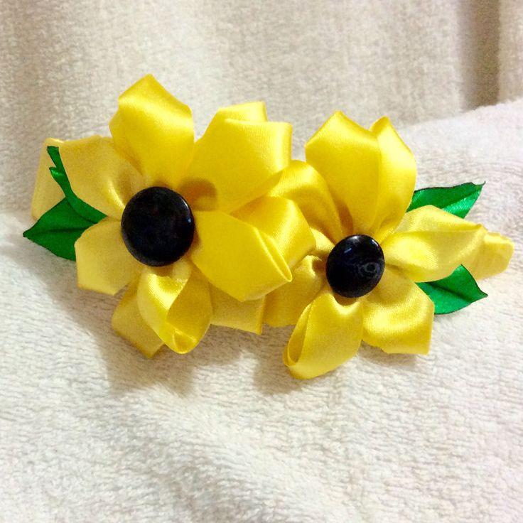 Kanzashi flowers headband
