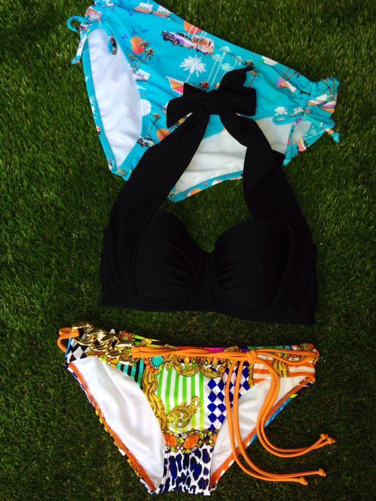Celebrate 30 Days of Triple Treats inspired by beautiful customers! Enter code word TRIPLE at point of purchase for 30% OFF 3 items or more + FREE SHIPPING! Featured here: Heaven Fashion Plains Convertible Halter Bandeau Top, Endless Summer Rouche Tie-side Brief & Harlequin Chain Belt Brief - $56 for all 3 items + Free Shipping! SHOP HERE: http://www.swimheaven.com.au/plain/tops/heaven-fashion-plains-convertible-halter-top.html