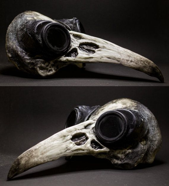 Raven Skull Mask Mad Max Edition by SanseverinoFrancesco on Etsy