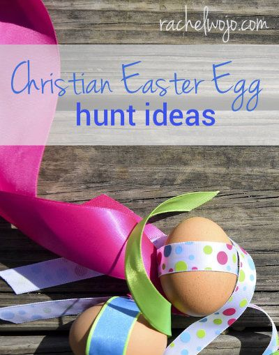 You love Easter egg hunts, but how do your kids learn the true meaning of Easter while doing an Easter egg hunt? Glad you asked! We've got some great ideas for you!