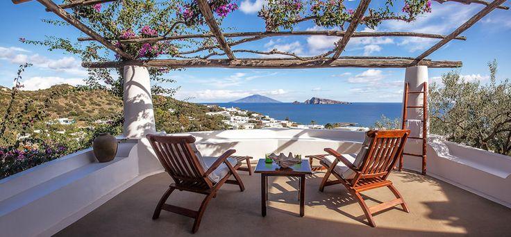 Relax in #Panarea | #aeolianisland #eolie #relax #hotel #vacation