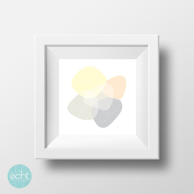 Stone Neutral Prints -  Pastels Abstract Ready to Print Wall Art - Digital Download by ECHTDESIGNS on Etsy