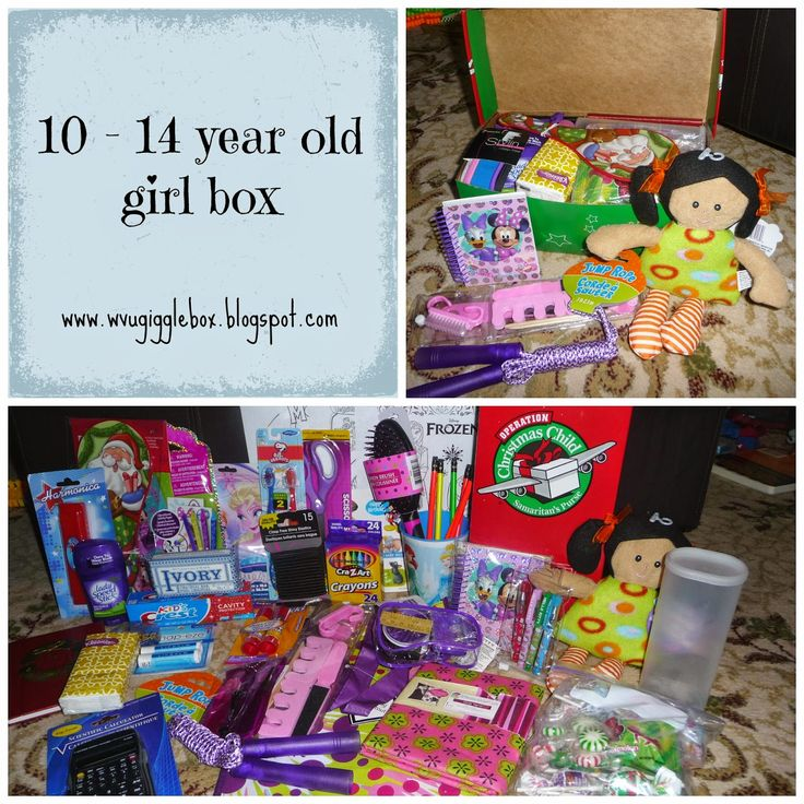 Operation Christmas Child 2014 - packing a 10 - 14 year old girl box - Gigglebox Tells it Like it is... #OCC