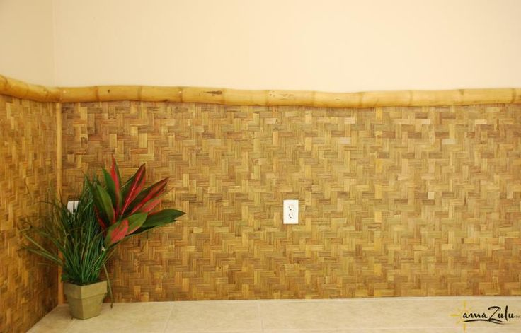 Wide Weave Bamboo Board wall coveringfrom amaZulu, Inc.