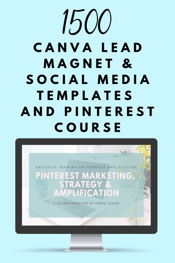 THE ONLY PINTEREST COURSE    that will teach you about amplification