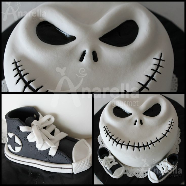 Jack Cake - The nightmare before christmas