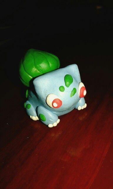 Bullbasur #pokemon #modelado_de_plastilina