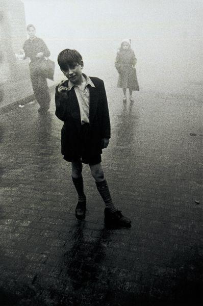 London 1951-52 © Robert Frank