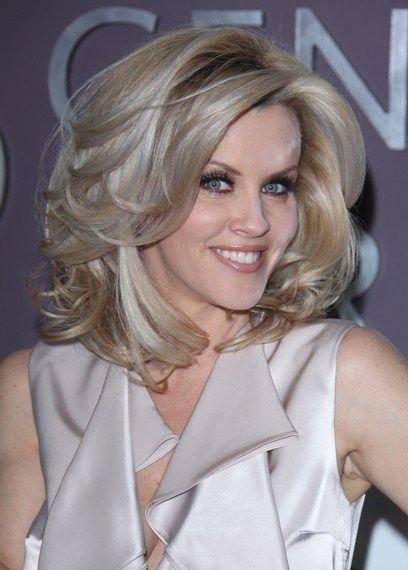 Jenny McCarthy's wavy, voluminous hairstyle | SheKnows CelebSalon