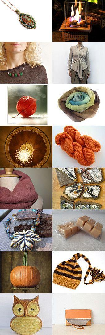Fall night by Mona on Etsy--Pinned with TreasuryPin.com