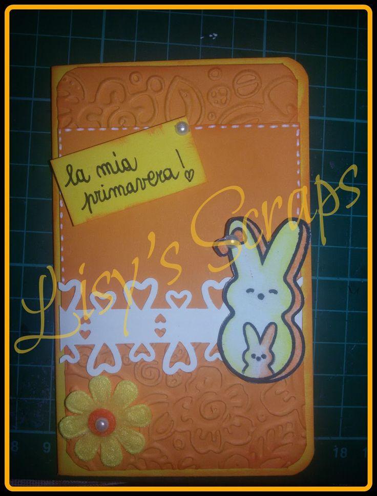 Lisy's Scraps: UNA SEMPLICE CARD,UN GRANDE SIGNIFICATO!!