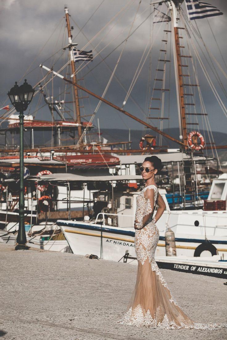 after wedding shooting antiparos boat trip vasia stamatis greece sea