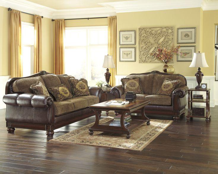 61 best Furniture images on Pinterest Ashley furniture sofas - ashley living room sets