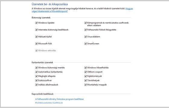 Tech: Így kapcsolhatja ki a Windows idegesítő figyelmeztetéseit - HVG.hu