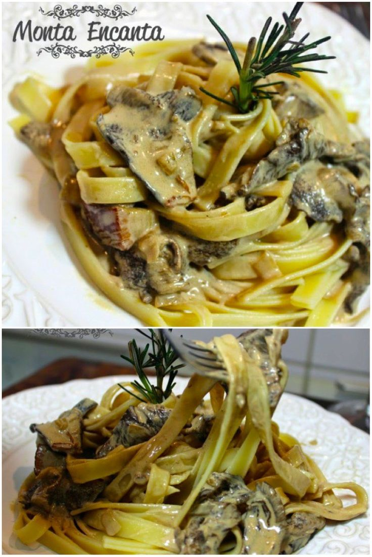 Tagliateli ao Molho de Funghi Secchi – Amo cogumelo! Seja ele fresco ou seco, pode-se preparar uma infinidade de pratos, com sabor requintado, de fazer qualquer um suspirar e implorar por bi…