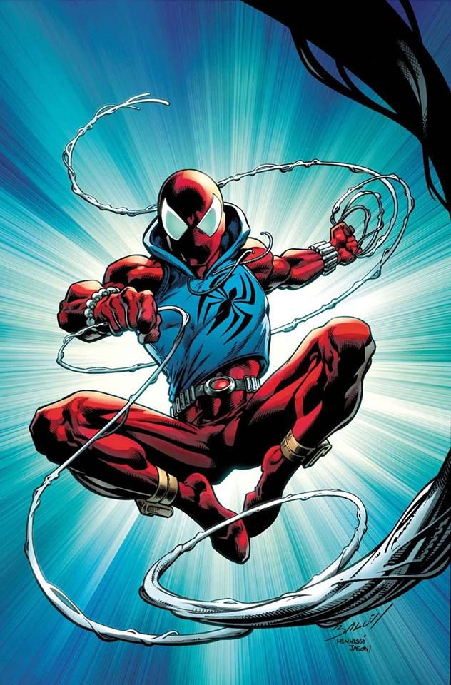 Scarlet Spider by Mark Bagley