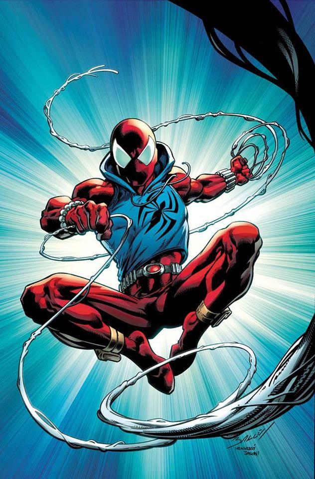 Scarlet Spider by Mark Bagley