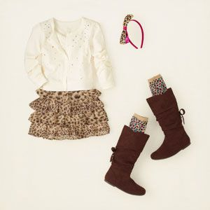 girl - outfits - love leopard | Children's Clothing | Kids Clothes | The Children's Place