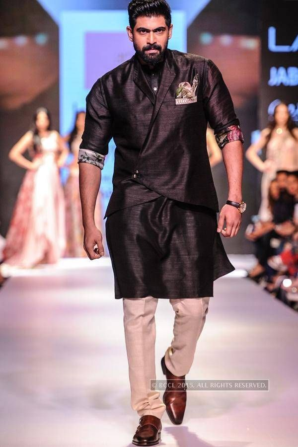 Rana Daggubati walks the ramp