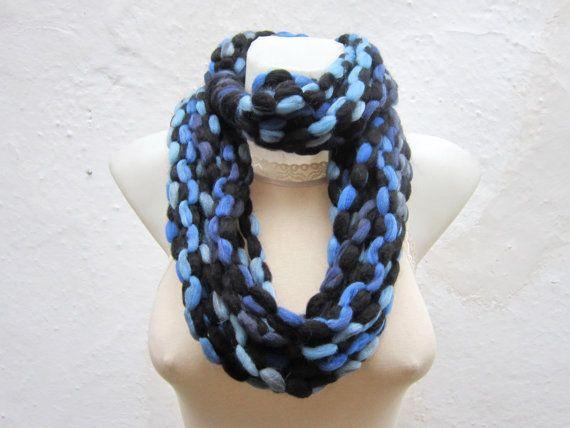 Scarf infinity  Necklace scarf  Colorful  winter  by scarfnurlu