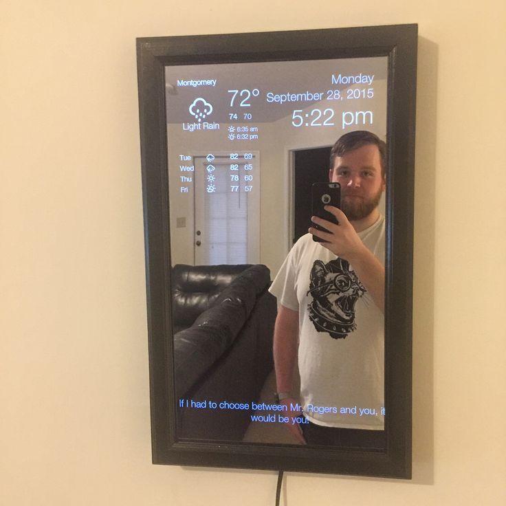 I, too, built a magic mirror. - Imgur